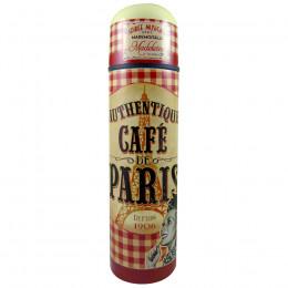 Bouteille isotherme motif Café de Paris 50cl