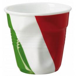 Gobelet froissé expresso drapeau Italie 8cl