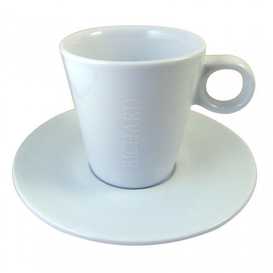 Tasse et soucoupe cappuccino Slim
