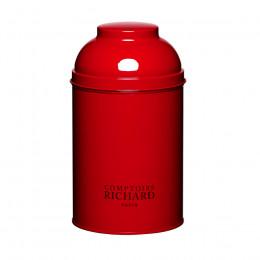 Boîte vide laquée dôme rouge