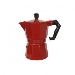 Cafetière italienne Moka Alice rouge 3 tasses