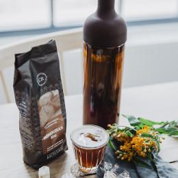 Bouteille café glacé marron