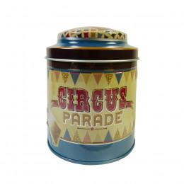 Boîte à thé vide Circus Parade