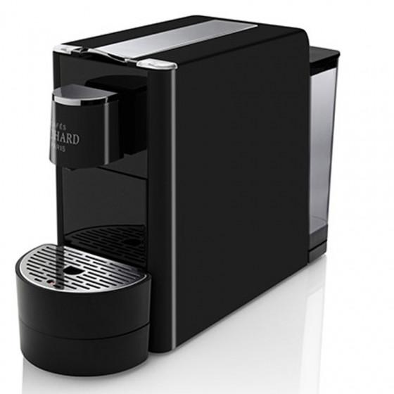 Machine Ventura noire pour Capsules Premium Cafés Richard et 1 étui de 24 capsules premium n°8 Offert