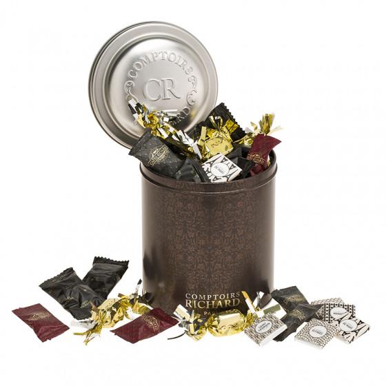 Boîte gourmande assortiment autour du chocolat 530g