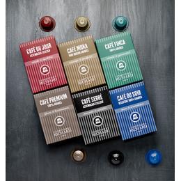 Café Moka capsules compatibles Nespresso® x10