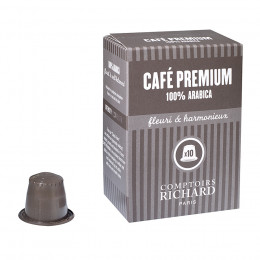 Assemblage Café Premium capsules compatibles Nespresso® x10