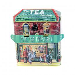 Boîte vide maison du thé