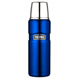 Bouteille isotherme King bleue  47cl