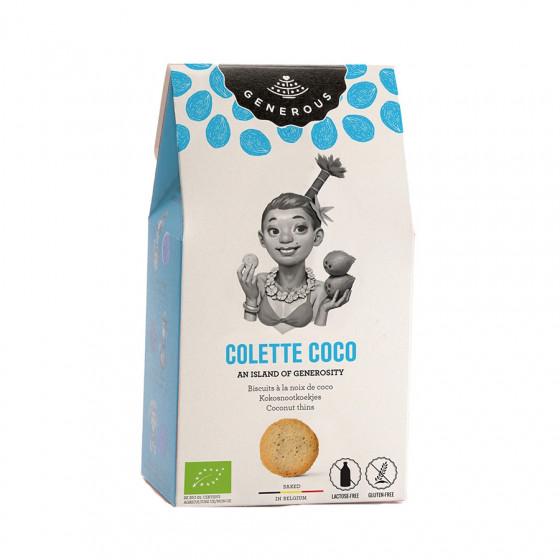 Biscuits Colette à la noix de coco bio et sans gluten 100g