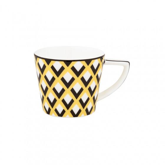 Mug Scales jaune 15cl