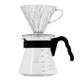 Kit Dripper et carafe V60 1 à 4 tasses