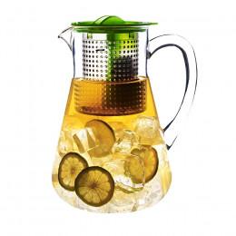 Pichet vert infuseur à thé Finum 1.8L