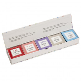 Coffret des Arts thés & tisanes bio assortis sachets mousseline x25