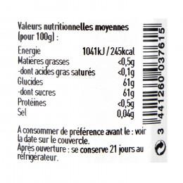 Confiture fleurs de coquelicots 120g