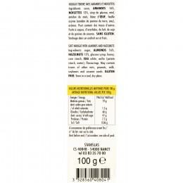 Barre de nougat amandes 100g