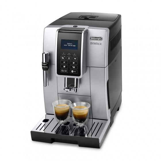 Robot café Dinamica FEB 3535.SB + 2 paquets de 250g de café en grains + 4 verres expresso Cafés Richard 5cl offerts