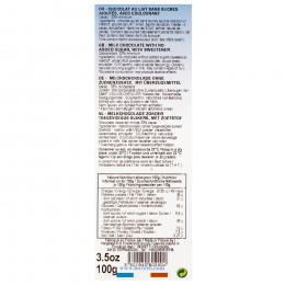 Chocolat au lait tablette diététique 100g