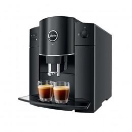 Robot café JURA D4 Pianoblack + 2 paquets de 250g de café en grains et 4 verres expresso Cafés Richard 5cl offerts