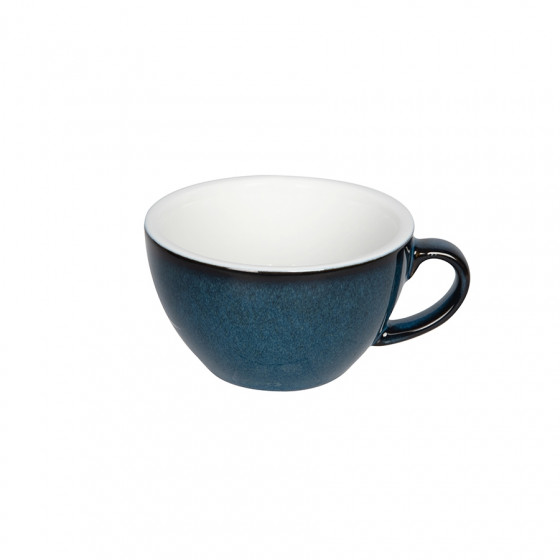 Tasse Egg Cappuccino bleu nuit 20cl