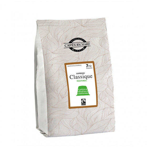 Café expresso classique capsules compatibles Nespresso® x50