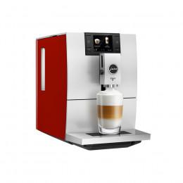 Robot café JURA ENA 8 Sunset Rouge et 3 paquets de 250g de café en grains et 2 verres expresso Cafés Richard 8cl offerts