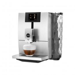 Robot café JURA ENA 8 Massive Aluminium et 5 paquets de 250g de café en grains et 4 verres double parois Cafés Richard offerts