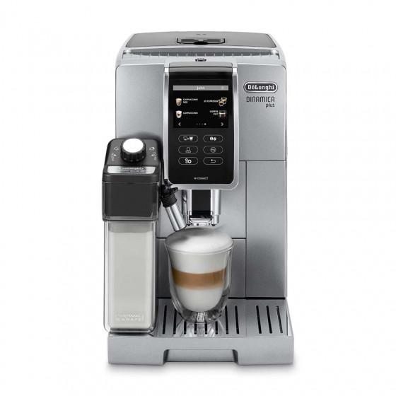 Robot café Delonghi Dinamica FEB 3795.S et 3 paquets de 250g de café en grains et 2 verres expresso Cafés Richard 8cl offerts
