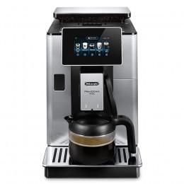 Robot café Delonghi primadonna Soul carafe et 5 paquets de 250g de café en grains + 4 verres double parois Cafés Richard offerts