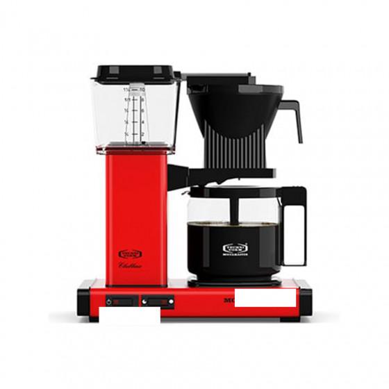 Cafetière filtre Moccamaster rouge 1.25L