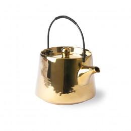 Théière en céramique dorée 700ml
