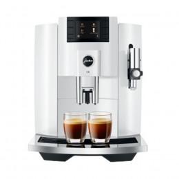 Robot café JURA E8 Piano White et 3 paquets de 250g de café en grains et 2 verres expresso Cafés Richard 8cl offerts