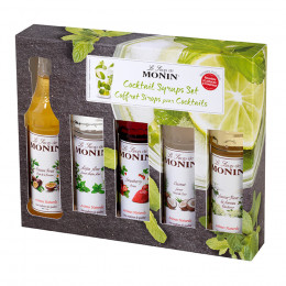 Coffret de 5 mini sirops cocktail 5cl