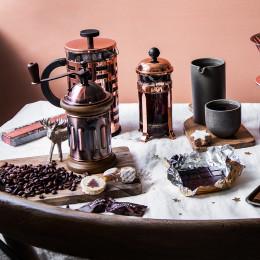 Cafetière à piston cuivrée Eileen 8 tasses Bodum