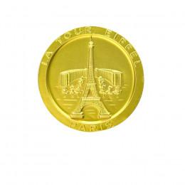Médaille chocolat au lait monuments de Paris 58g