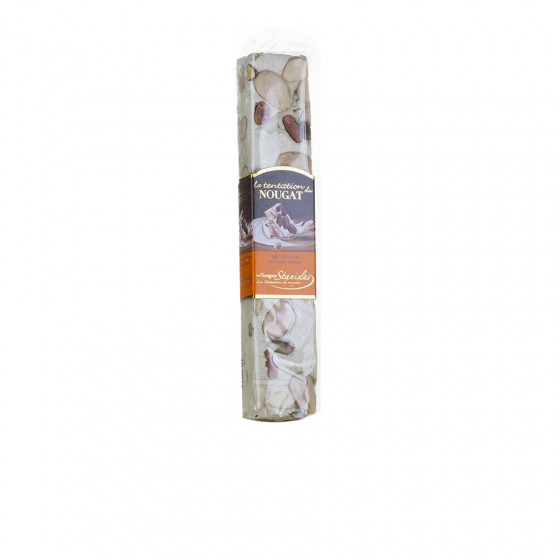 Barre de nougat pistache 100g
