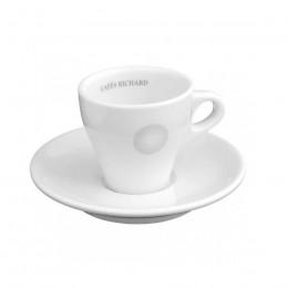 Tasse cappuccino et soucoupe Perle Noire 15cl