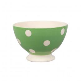 Bol à pois blancs vert 30cl