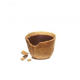 Boîte de 6 tasses à croquer au chocolat noir 71% 96g