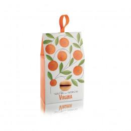 Biscuit Baci di Dama chocolat et orange étui 180g
