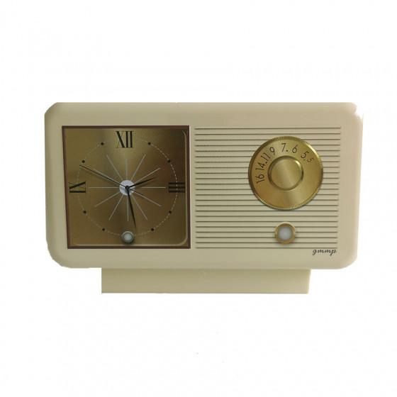 Boîte vide radio-réveil beige
