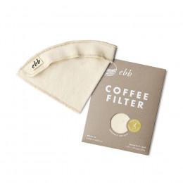 Filtre réutilisable en coton pour Chemex 6 à 10 tasses