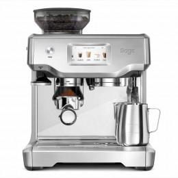 Robot café Barista Touch SES880BSS Sage et 3 paquets de 250g de café en grains et 2 verres expresso Cafés Richard 8cl offerts