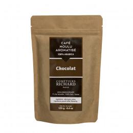 Café moulu Moka aromatisé au chocolat 125g