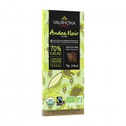Tablette de chocolat noir 70% Andoa Bio 70g